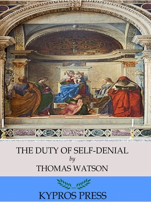 cover image of The Duty of Self-Denial